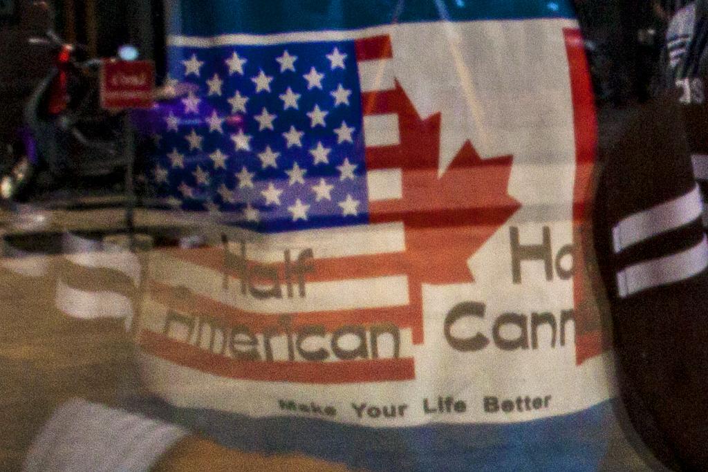 Half American Half Cannadian--Phnom Penh (detail)