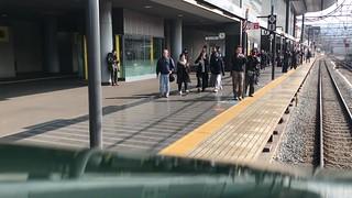 TWILIGHT EXPRESS 瑞風 京都駅発車