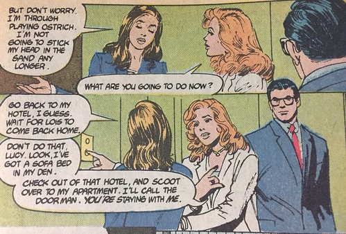 "From ""Lois Lane"" Book One, DC Comics, 1986"