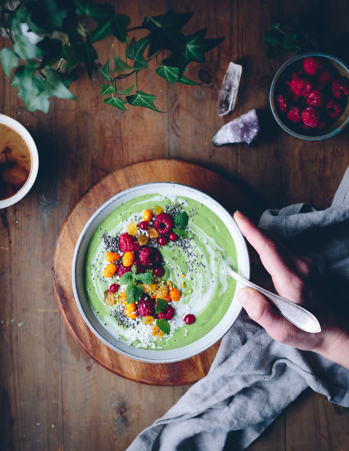 Green Parsnip Smoothie | Cashew Kitchen