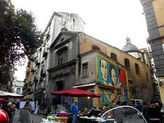 Misericordiella Church (1st half 18th century) in Naples