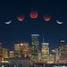 Houston Lunar Eclipse 2018 by johnsdigitaldreams.com