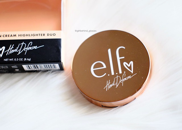 ELF Cosmetics Heart Defensor Coffee and Cream Highlighter Palette4