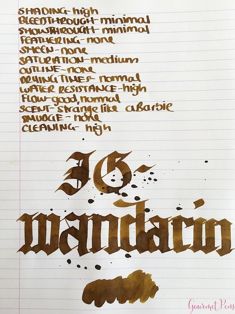 Ink Shot Review KWZI IG Mandarin @AppelboomLaren 5