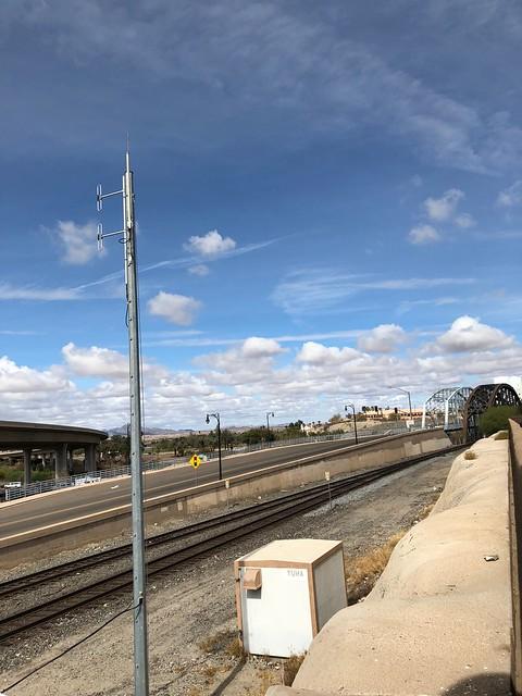 Yuma the trains tracks