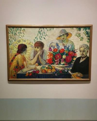 """Family Portrait I"", 1915 #toronto #artgalleryofontario #florinestettheimer #stettheimerago"