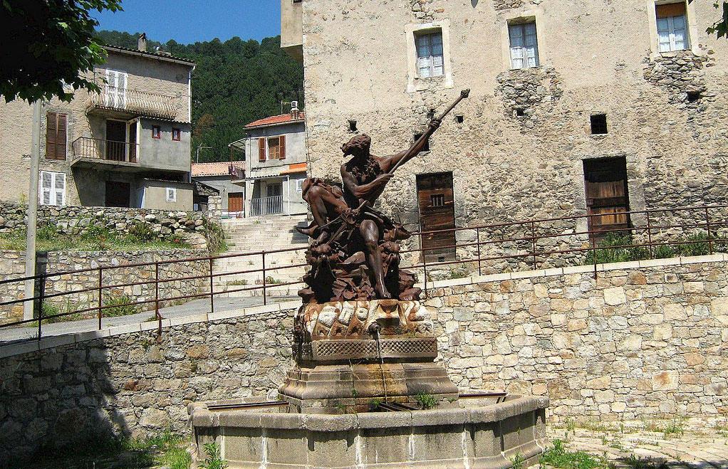 Ghisoni statue de Neptune