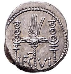 Mark Antony Legionary Denarius reverse