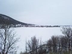 Cold weather in Huntsville, Utah
