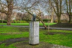 JAMES JOYCE BY MAJORIE FITZGIBBON [SAINT STEPHENS GREEN DUBLIN]-136859