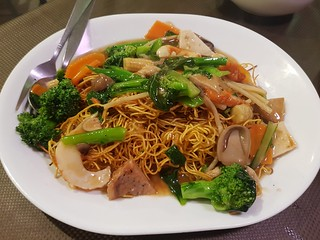 Combination Chow Mein at Pu Kwong