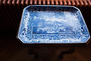 Antique Danish ceramic tray