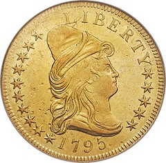 1795 Capped Bust Eagle obverse