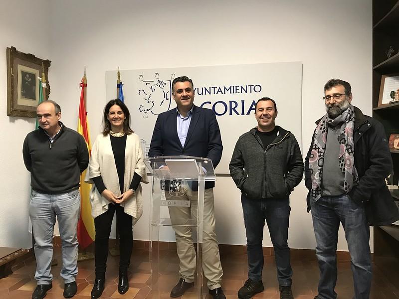 El Alcalde de Coria define el 2017 como un año positivo para la ciudad de Coria