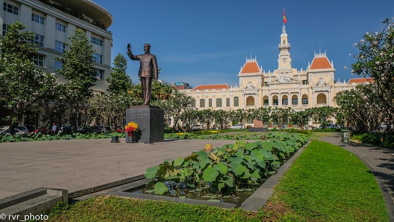 Estatua de Ho Chi Minh, Vietnam