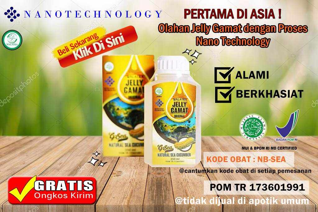 Harga Asli Walatra G-Sea Original Jelly Gamat