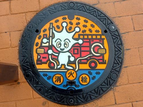 Yokosuka Kanagawa, manhole cover 3 (神奈川県横須賀市のマンホール3)