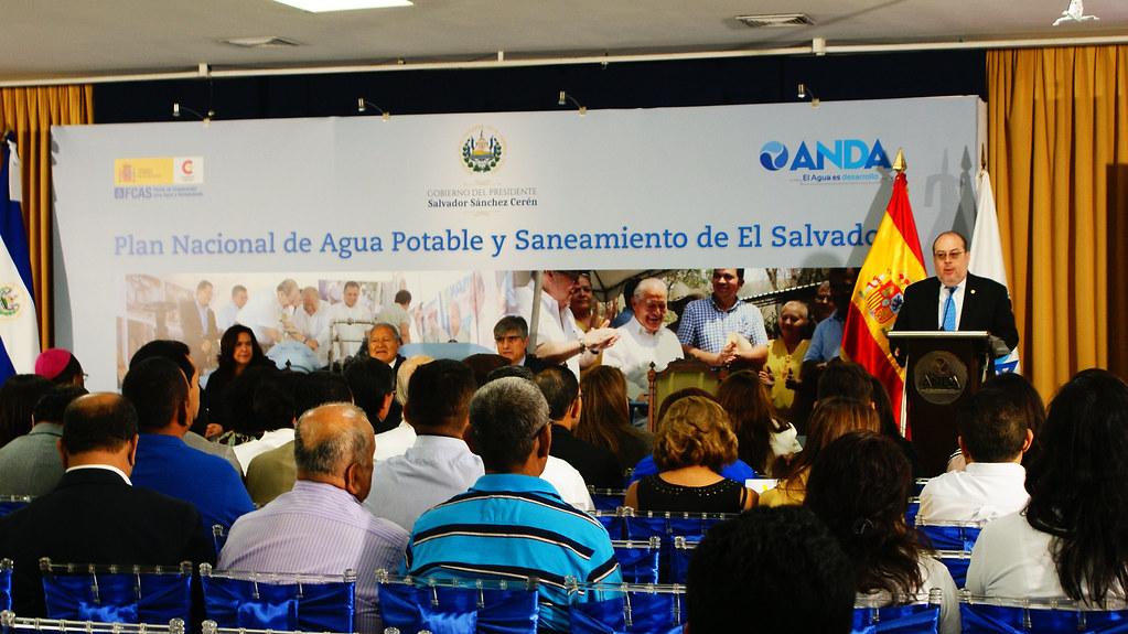 Presentación de  Plan Nacional de Agua Potable y Saneamiento de El Salvador