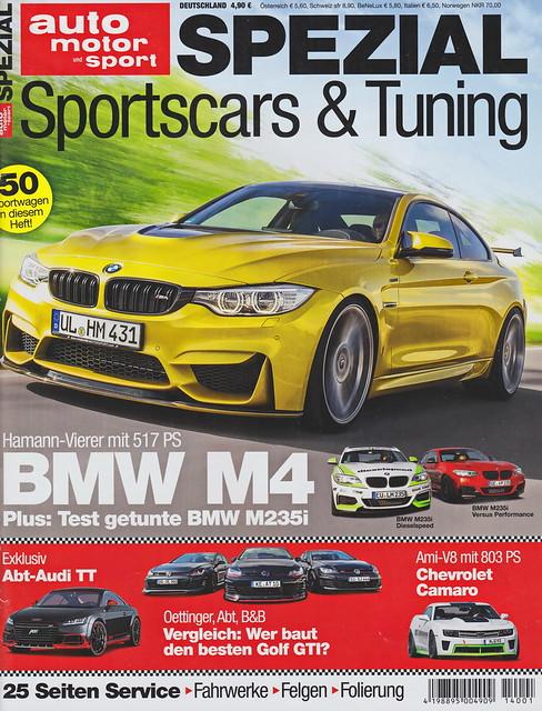 auto motor sport Spezial - Sportscars & Tuning 1/2014