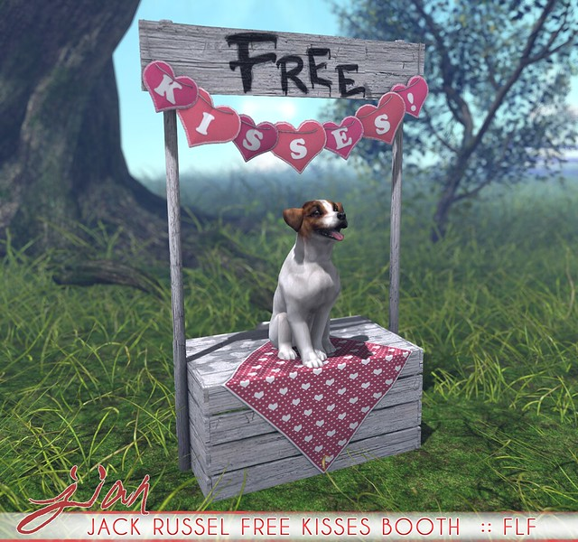 JIAN Jack Russel Free Kisses Booth :: FLF