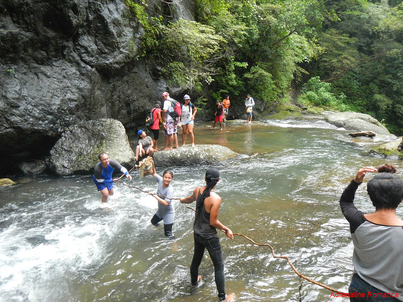 Treacherous river crossing