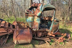 Rust Bucket at McDaniel Farm Park