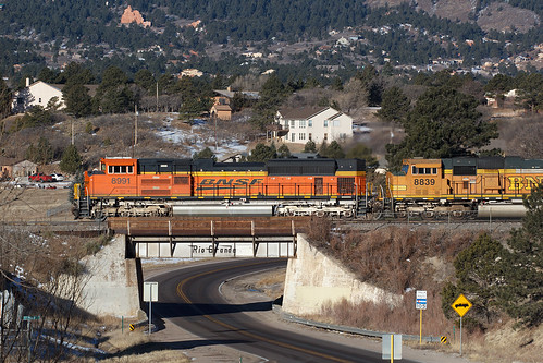 bnsf bnsf8991 emd sd70ace monument colorado jointline drgw denverriograndewestern train railroad
