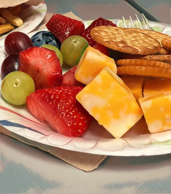 Birthday snacks 🍓