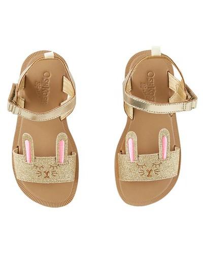 Golden Bunny Sandles