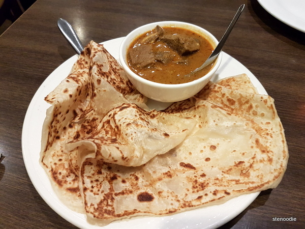 Roti and Curry Mutton