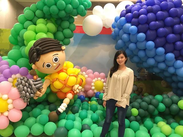 夢幻的童話森林氣球展