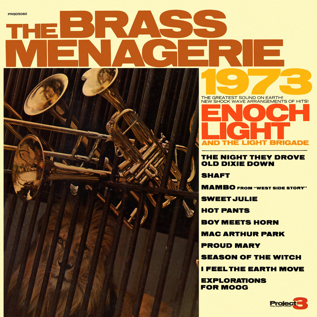 Enoch Light - The Brass Menagerie 1973