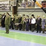 Торжественное открытие месячника оборонно-массовой и военно-патриотической работы в Геленджике
