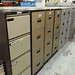 Various four door filing cabinets E70-80