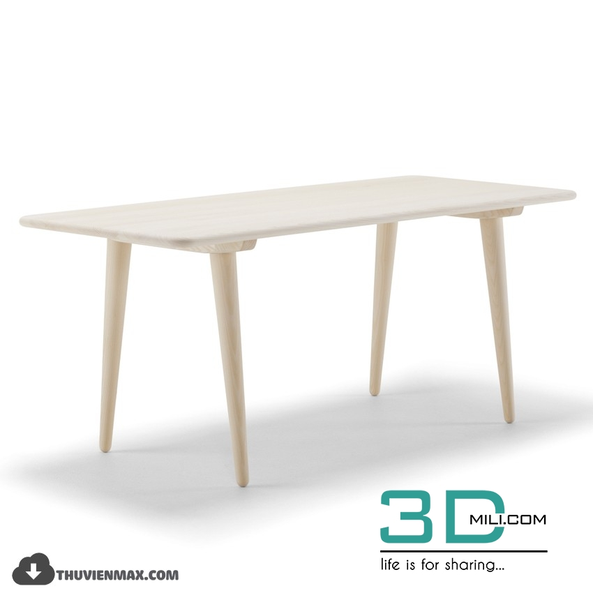 90  Table 3D Models Free Download - 3D Mili - Download 3D Model