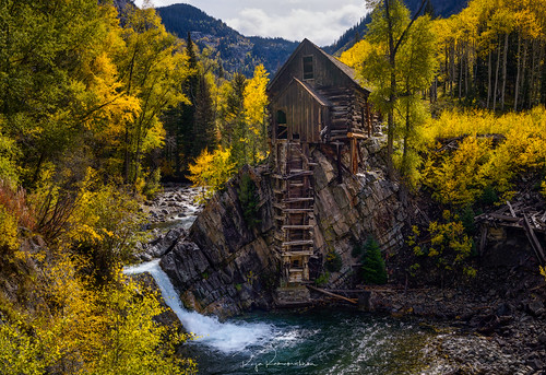 Crystal Mill Fall Colors