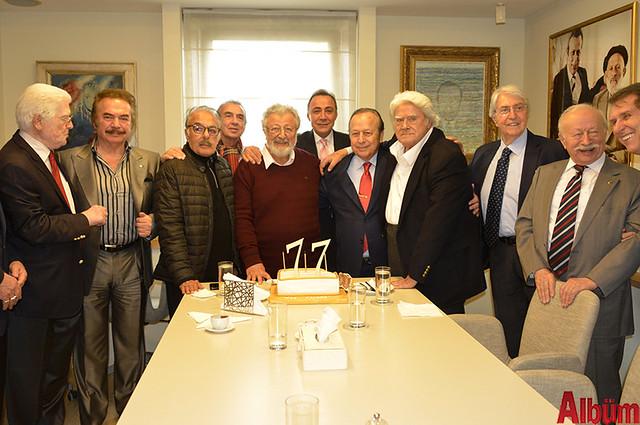 Yılmaz Ulusoy 77. yaşını dostlarıyla kutladı -2