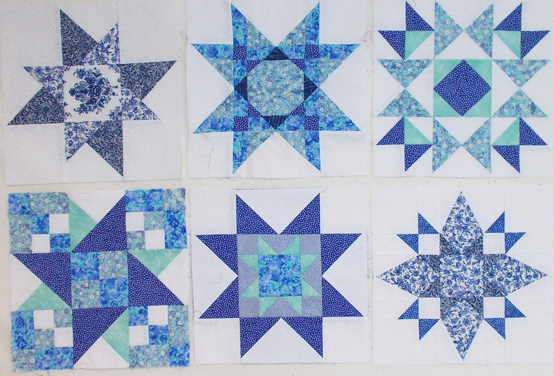 Family Star BOM blocks by Sandi Walton at Piecemeal Quilts