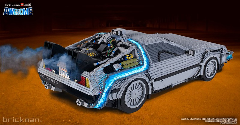 LEGO® Brick Back to the Future DeLorean