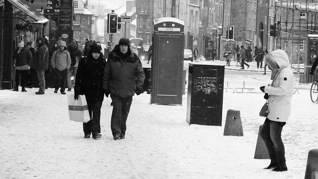 Snowy Edinburgh 08