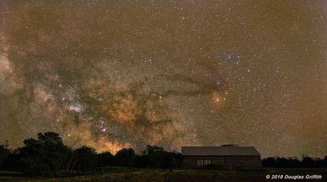 Early Morning Milky Way over a Beckwith Township Barn