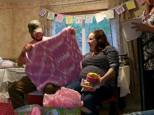 baby shower for Riley Anne