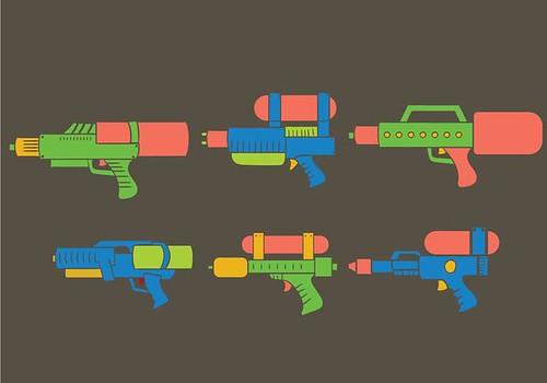 智慧手槍(Vecteezy)