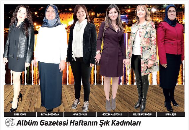 Emel Kodal, Fatma Bozdoğan, Gaye Coşkun, Gökçen Nazifoğlu, Melike Nazifoğlu, Rabia Eşit