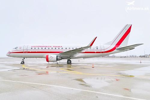SP-LIG Polish Government Embraer ERJ-175LR (ERJ-170-200 LR)