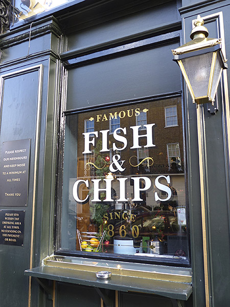 famous fish and chips