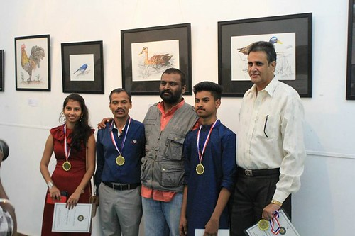 prizewinners, Artists for Wildlife and Nature, 300118, Blr
