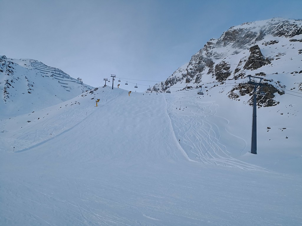 Black run at Schwarzkogl