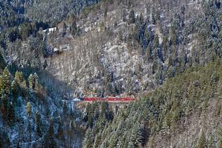 Winterliche Schwarzwaldbahn I