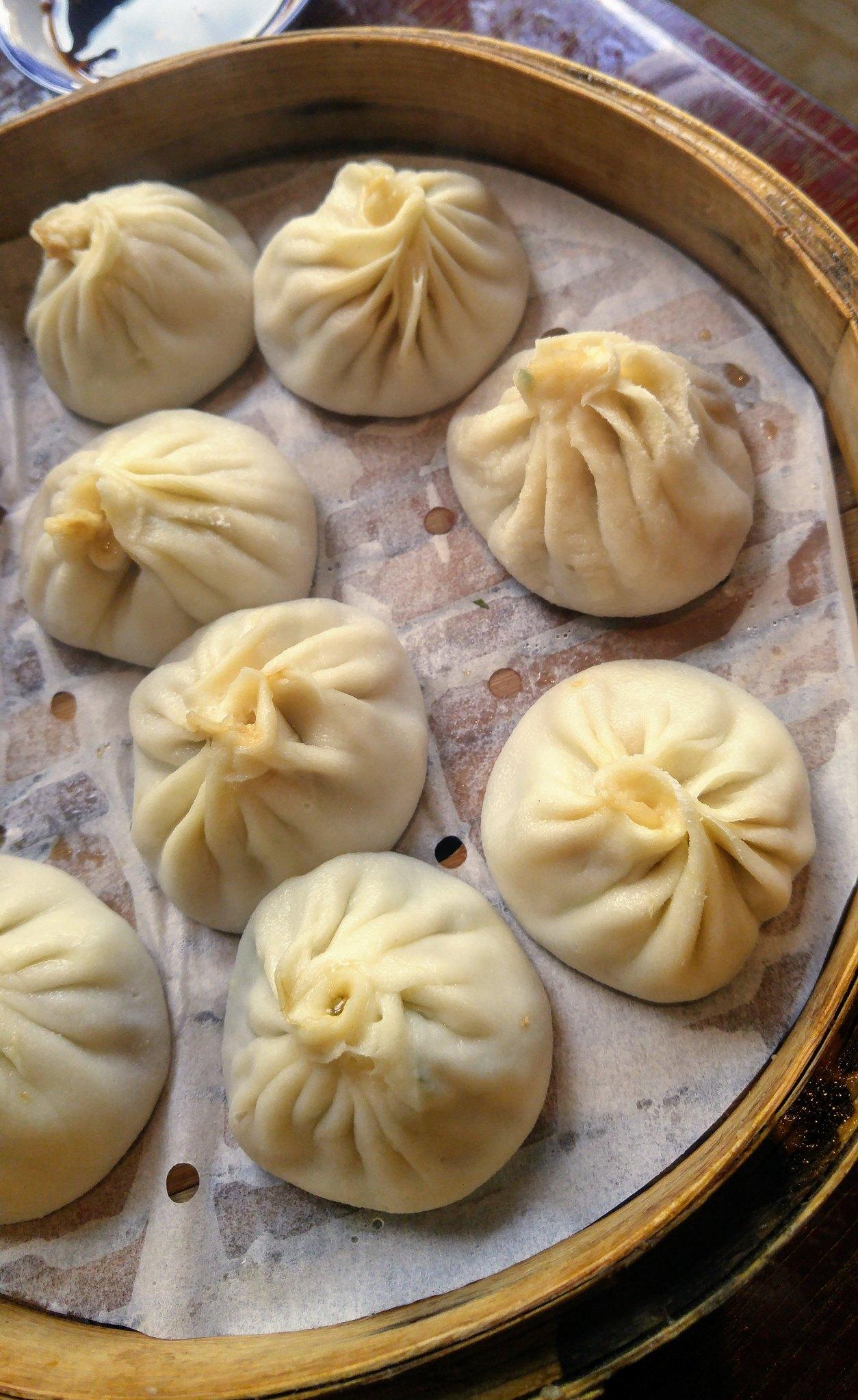 Xiao long bao Sammi soupe dumpling repas bouffe aliment asiatique